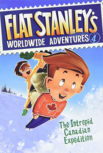 9780061429965: Flat Stanley's Worldwide Adventures, Book 4: The Intrepid Canadian Expedition