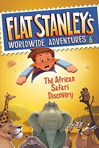 9780061430008: The African Safari Discovery (Flat Stanley's Worldwide Adventures)