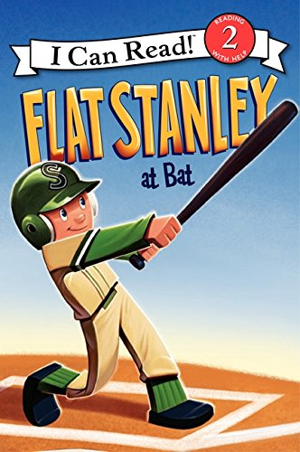 Flat Stanley at Bat (I Can Read Book 2): Brown, Jeff