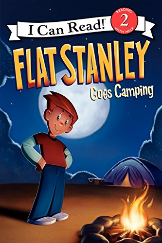 9780061430152: Flat Stanley Goes Camping (I Can Read Level 2)