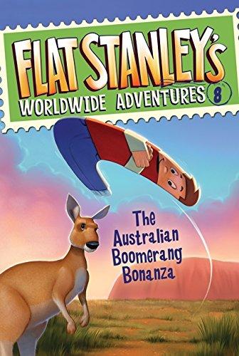 9780061430183: Flat Stanley's Worldwide Adventures #8: The Australian Boomerang Bonanza