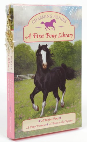9780061430299: A First Pony Library [With Necklace and 3 Pony Charms] (Charming Ponies)
