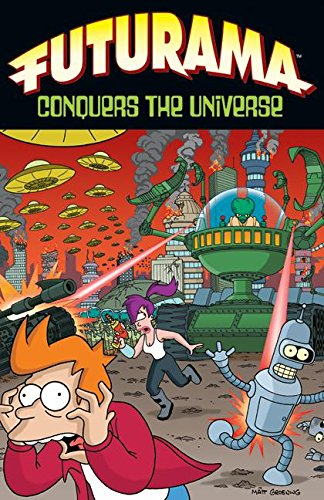 9780061430695: Futurama Conquers the Universe (Simpsons Futurama)