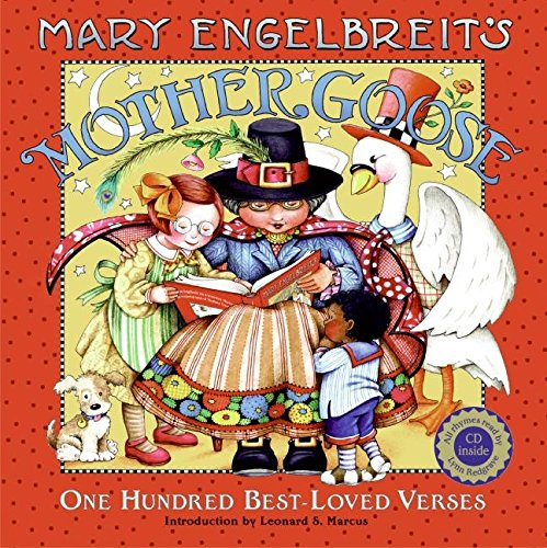 9780061431531: Mary Engelbreit's Mother Goose: One Hundred Best-Loved Verses [With CD]