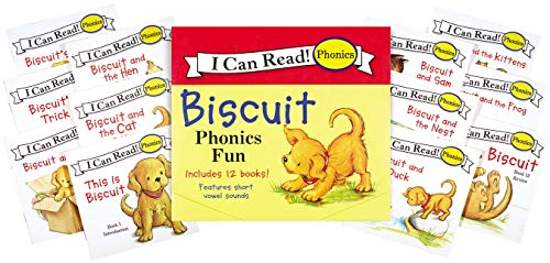 9780061432040: Biscuit Phonics Fun (I Can Read! Phonics)