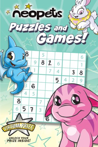 9780061432347: Neopets: Puzzles and Games!