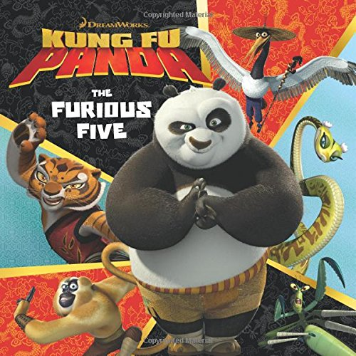 9780061434570: Kung Fu Panda: The Furious Five (DreamWorks Kung Fu Panda)
