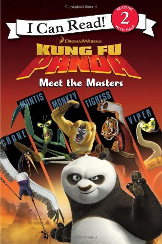 9780061434600: Kung Fu Panda: Meet the Masters (I Can Read Book 2)