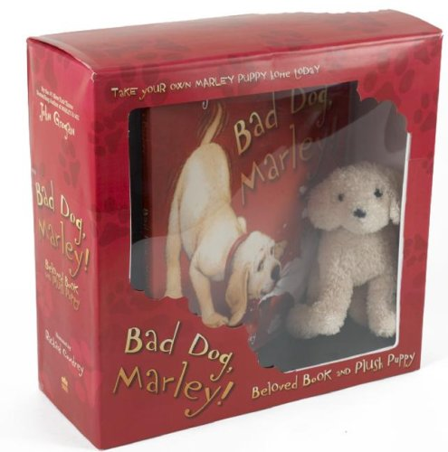9780061434969: Bad Dog, Marley! Beloved Book and Plush Puppy