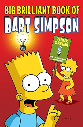 9780061450228: Big Brilliant Book of Bart Simpson (Simpsons Comic Compilations)