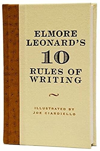 9780061451461: Elmore Leonard's 10 Rules of Writing