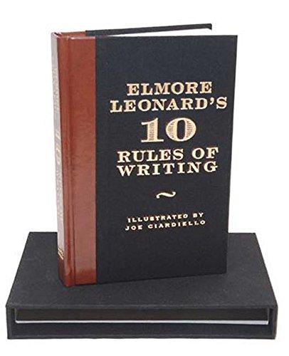 9780061451485: Elmore Leonard's 10 Rules of Writing Ltd Ed