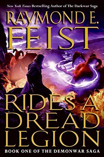9780061468360: Rides a dread legion (The Demonwar Saga)