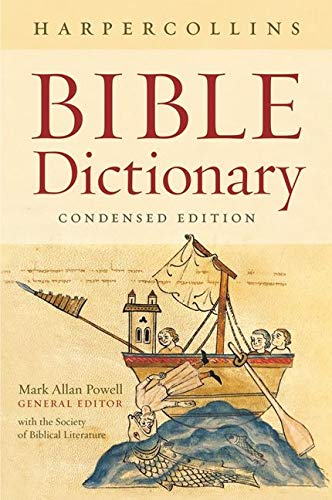 9780061469077: HarperCollins Bible Dictionary - Condensed Edition