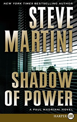 9780061470929: Shadow of Power LP: A Paul Madriani Novel (Paul Madriani Novels)