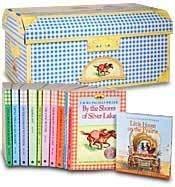 9780061472589: Little House on the Prairie Treasure Chest (9 Volumes)