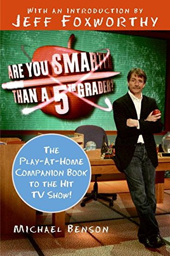 9780061473067: Are You Smarter Than a 5th Grader?: The Play-at-Home Companion Book to the Hit TV Show!