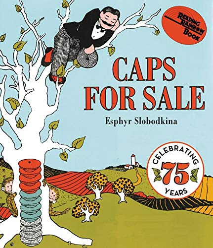 Caps for Sale Board Book: A Tale: Esphyr Slobodkina