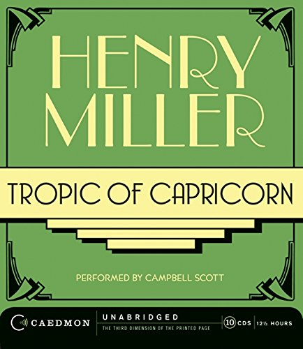 9780061477904: Tropic of Capricorn Unabridged CD