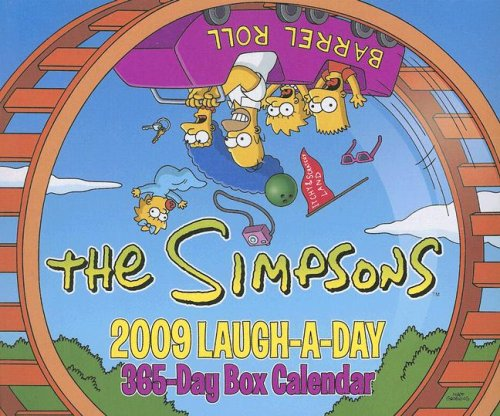 9780061477911: The Simpsons Laugh-A-Day: 365-Day Box Calendar