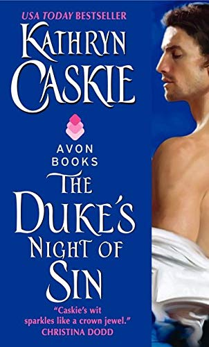 9780061491030: The Duke's Night of Sin (Seven Deadly Sins)
