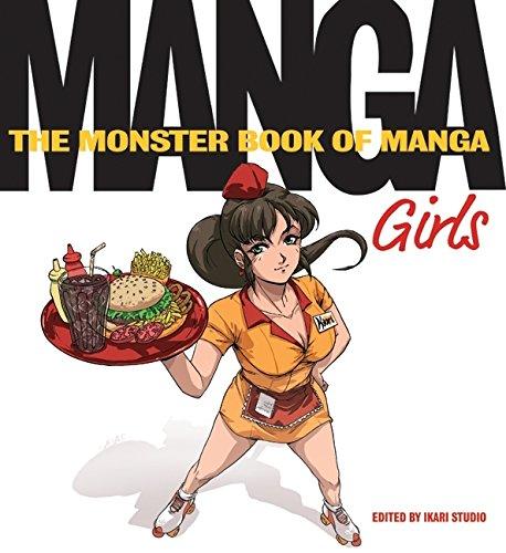 9780061537943: The Monster Book of Manga: Girls