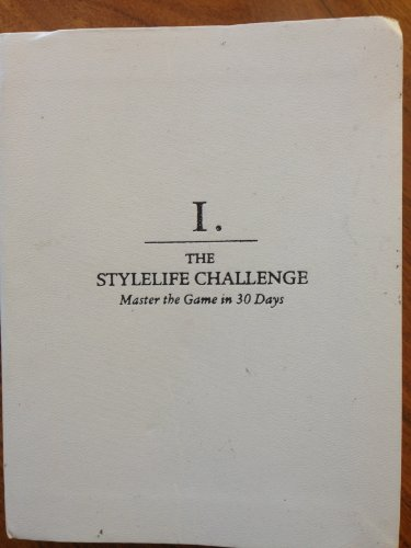 9780061540431: Rules of the Game: The Stylelife Challenge, Master the Game in 30 Days