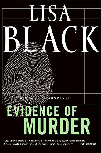 9780061544484: Evidence of Murder: A Novel of Suspense