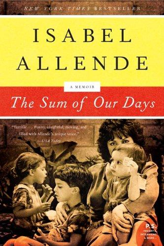 9780061551840: The Sum of Our Days: A Memoir