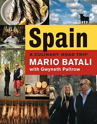 9780061560934: Spain...a Culinary Road Trip