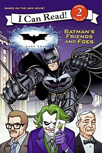 9780061561900: Dark Knight: Batman's Friends and Foes, The (I Can Read - Level 2 (Quality))