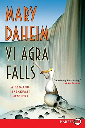 9780061562716: Vi Agra Falls LP: A Bed-and-Breakfast Mystery (Bed-and-Breakfast Mysteries)