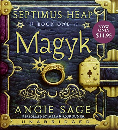 9780061563065: Septimus Heap, Book One: Magyk Low Price CD