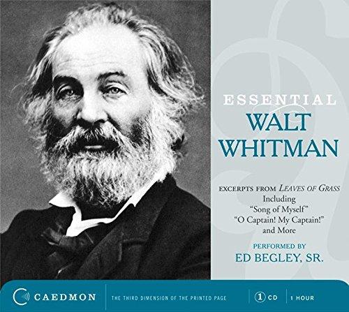 9780061566417: Essential Walt Whitman CD (Caedmon Essentials)