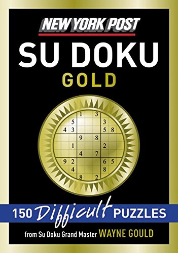 9780061573200: New York Post Gold Su Doku: 150 Difficult Puzzles
