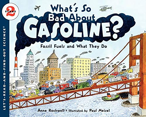 What's So Bad About Gasoline?: Fossil Fuels: Rockwell, Anne F./