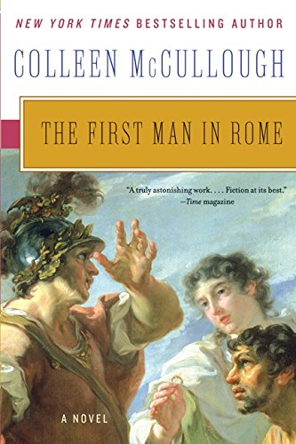 9780061582417: The First Man in Rome (Masters of Rome)