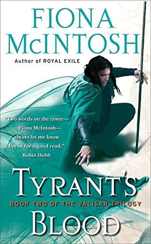 9780061582691: Tyrant's Blood (Valisar)