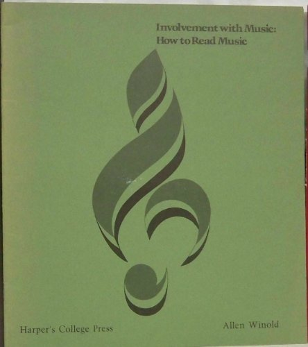 9780061610028: Involvement with music: How to read music