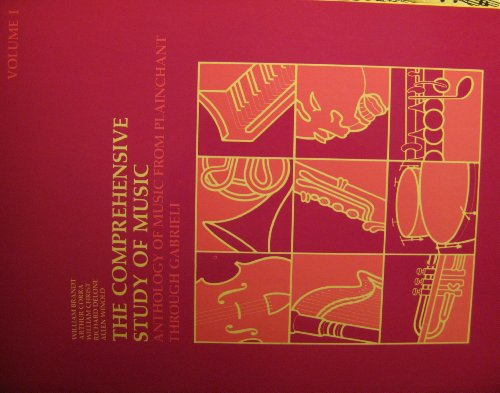 9780061614118: Comprehensive Study of Music: Anthology of