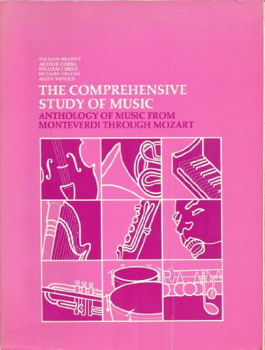 9780061614170: Comprehensive Study of Music: Anthology of Music from Monteverdi Through Mozart v. 2