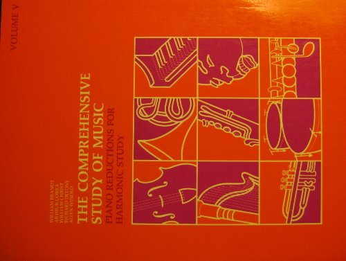 9780061614217: Comprehensive Study of Music: Piano Reductions for Harmonic Study v. 5