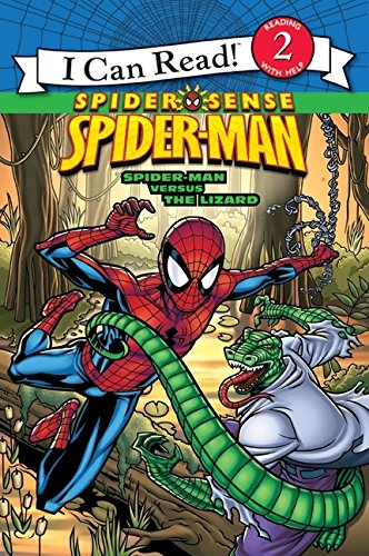 9780061626203: Spider-Man: Spider-Man versus the Lizard (I Can Read - Level 2 (Quality))