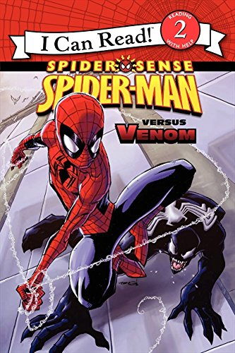 Spider-Man: Spider-Man versus Venom (Spider Sense: I Can Read. Level 2): Sazaklis, John