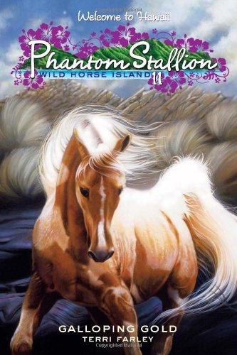 9780061626456: Phantom Stallion: Wild Horse Island #11: Galloping Gold