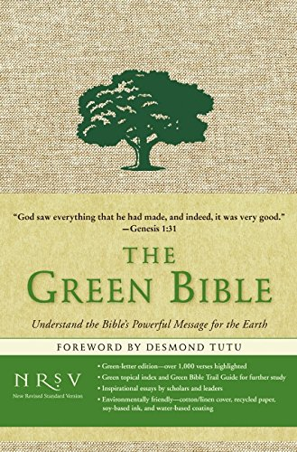 9780061627996: The Green Bible: New Revised Standard Version