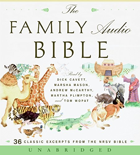9780061646645: The Family Audio Bible: 36 Classic Excerpts from the NRSV Bible