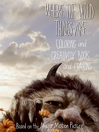 9780061656842: Where the Wild Things Are: Coloring and Creativity Book and Crayons