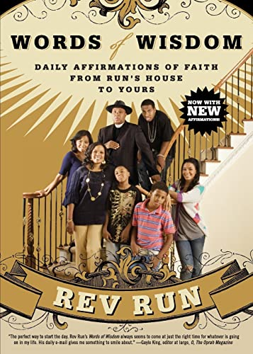 9780061660153: Words of Wisdom: Daily Affirmations of Faith from Run's House to Yours