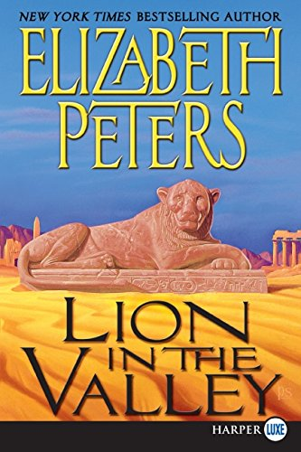 9780061668319: Lion in the Valley (Amelia Peabody Mysteries)